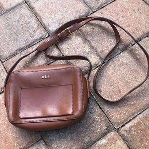 Lauren Ralph Lauren Brown Crossbody